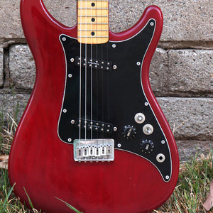 FENDER 1980 LEAD II 2 USA Red VINTAGE Electric Guitar Upgrades! 9645
