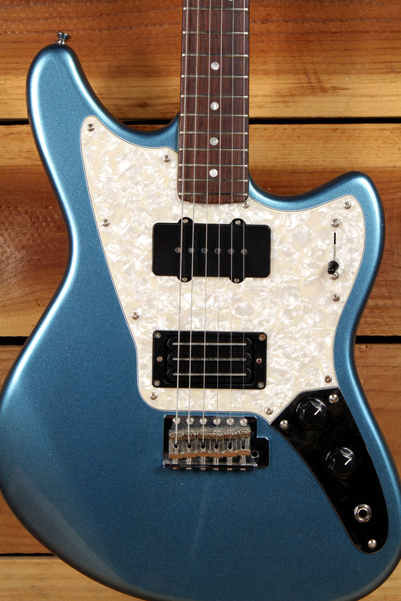 FENDER MARAUDER Offset Guitar Pawn Shop Blue Triplebucker Clean Free Ship! 0004