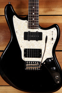 FENDER MARAUDER Offset Guitar Pawn Shop Black Triplebucker Clean Free Ship! 0317