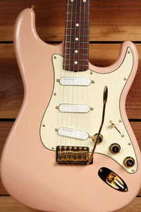 FENDER CLASSIC 60s STRATOCASTER MIJ Shell Pink 1996 Strat Japan Lace PU 6634