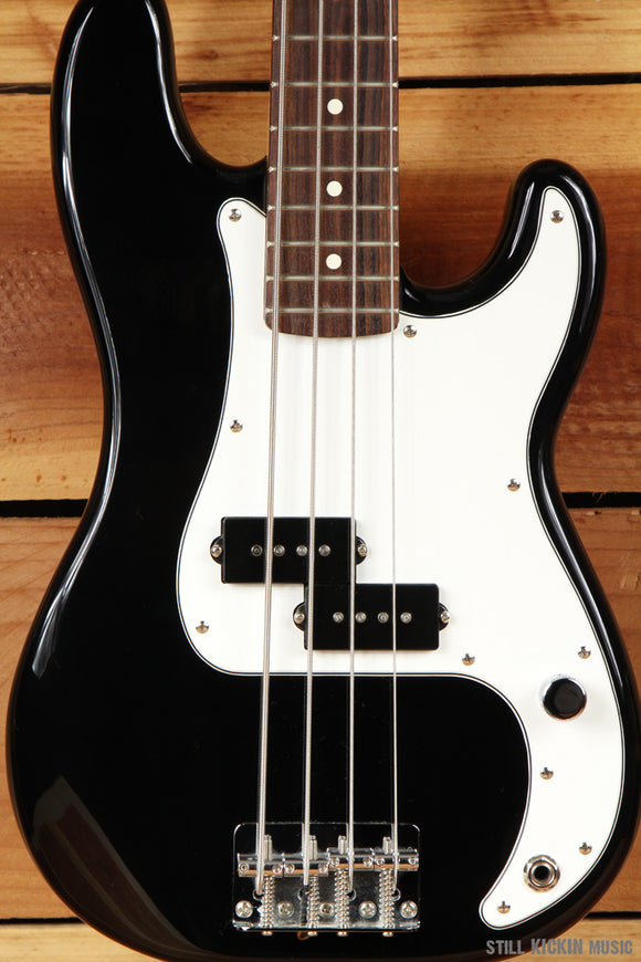 FENDER 2005 Rare P-BASS JUNIOR Black Short Scale Light Precision Jr Clean 9601