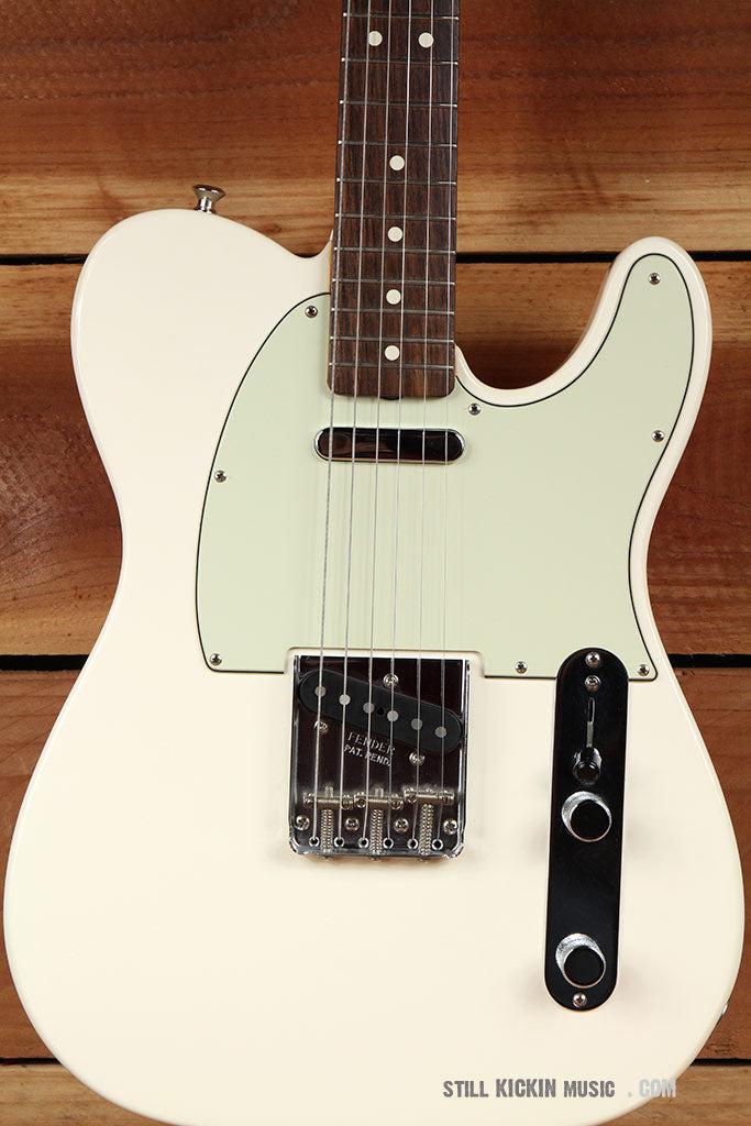 FENDER 2013 CLASSIC SERIES 60s TELECASTER Olympic White Super Clean! Tele 3221