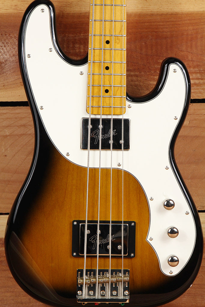 FENDER TELECASTER BASS Modern Player Sunburst 4-String Tele Clean! 6508