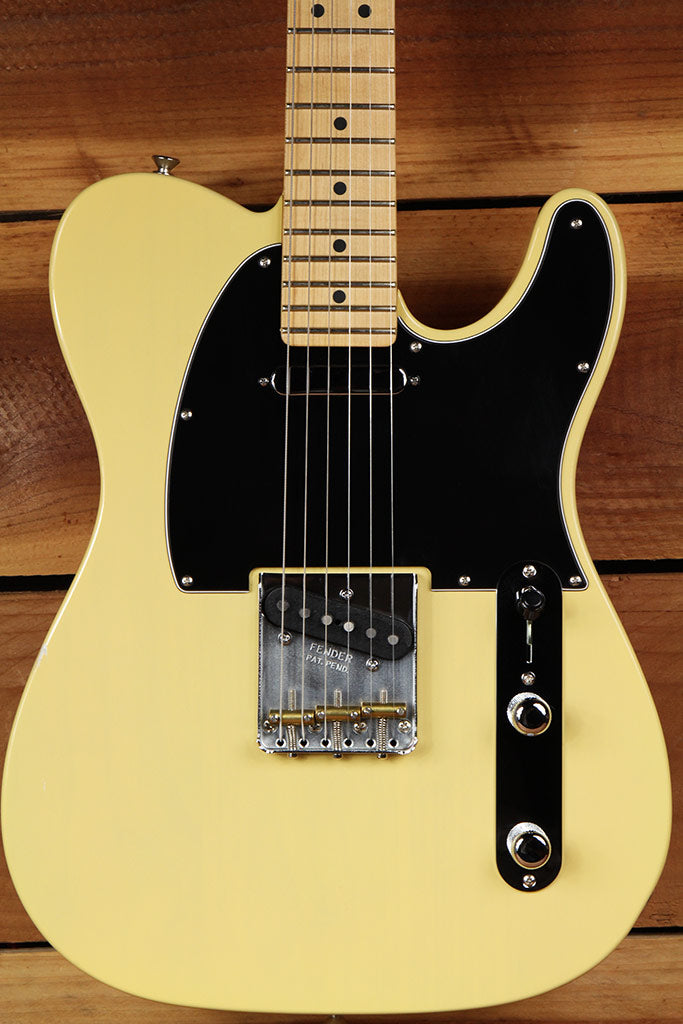 FENDER 2015 AMERICAN SPECIAL TELECASTER Vintage Blonde USA Tele Bag Papers 0542