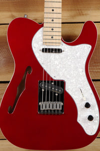 FENDER TELECASTER THINLINE DELUXE Mint! Noiseless PU Locking Tuners 69 Tele 8385