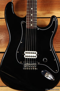 FENDER 2002 TOM DELONGE STRATOCASTER Box Car Racer Black Strat Guitar! 2111