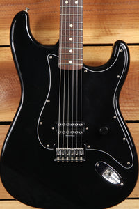 FENDER 2002 TOM DELONGE STATOCASTER Box Car Racer Black Strat Guitar! 8262