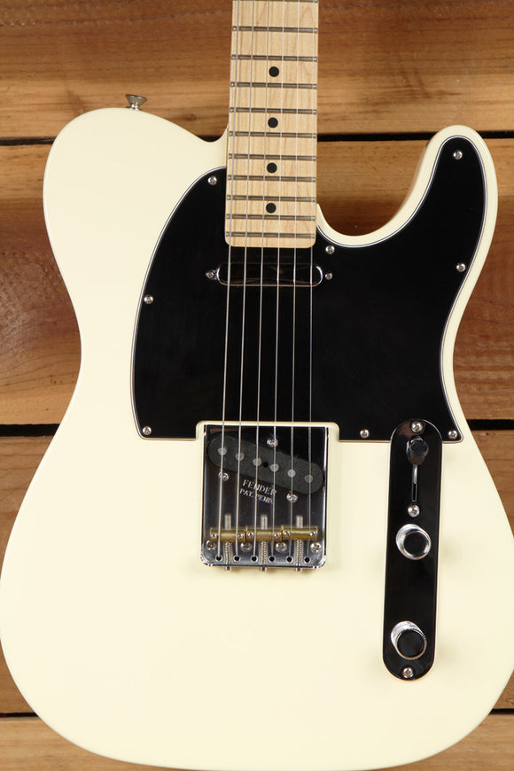 FENDER AMERICAN SPECIAL TELECASTER 4-Way Switch +S-1 Oly White USA Tele Bag 2071