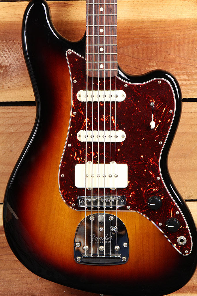FENDER BASS VI Pawn Shop Sunburst Nice! Baritone Made in Mexico MIM 9396