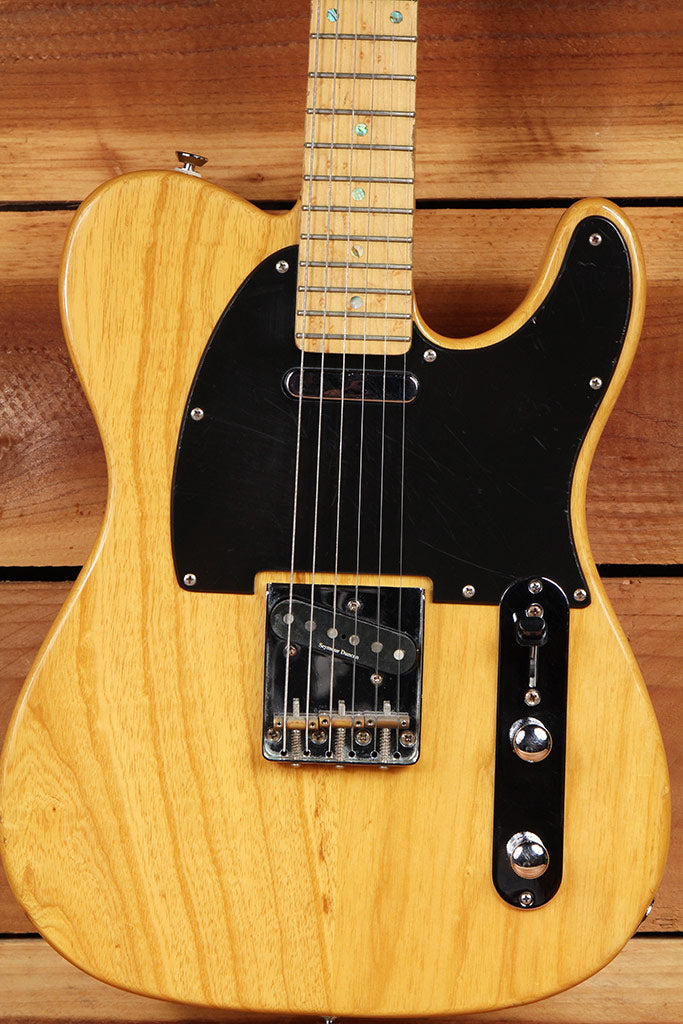 FENDER TELECASTER Natural Ash Gloss FSR Special Edition Mint! Tele 7939