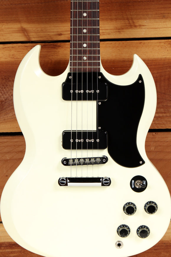 GIBSON SG SPECIAL 60s TRIBUTE Limited Run 2011 Dual P90 PU Satin Worn White 0429