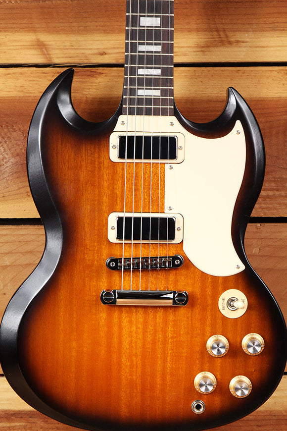 GIBSON SG SPECIAL 70s TRIBUTE T SATIN Sunburst Alnico mini-HB Clean! + Bag 9227