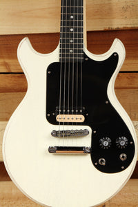 Gibson 2008 Joan Jett Les Paul Melody Maker Mint Condition OHSC Worn White 1509