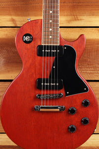 GIBSON 2012 LES PAUL JUNIOR SPECIAL Faded Worn Cherry P90 Bound Neck 0538