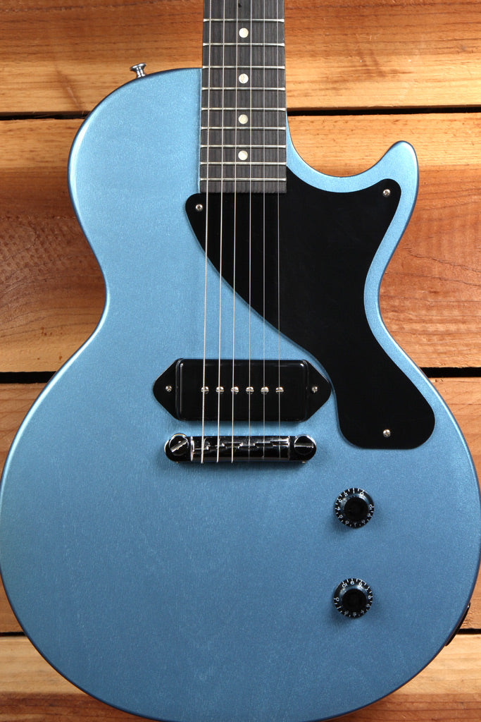 GIBSON LES PAUL JUNIOR PELHAM BLUE rare discontinued color Awesome Jr! 0453
