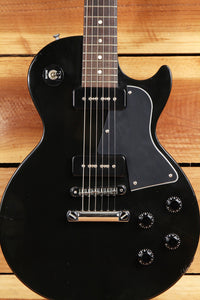 GIBSON LES PAUL JUNIOR SPECIAL 2001 Ebony Dual P90 Gloss Black Jr 1503