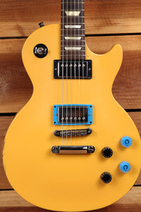 GIBSON LES PAUL STUDIO Rare Road Worn Relic Satin TV Yellow USA American 0640