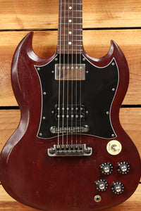 gibson sg faded worn brown satin relic special