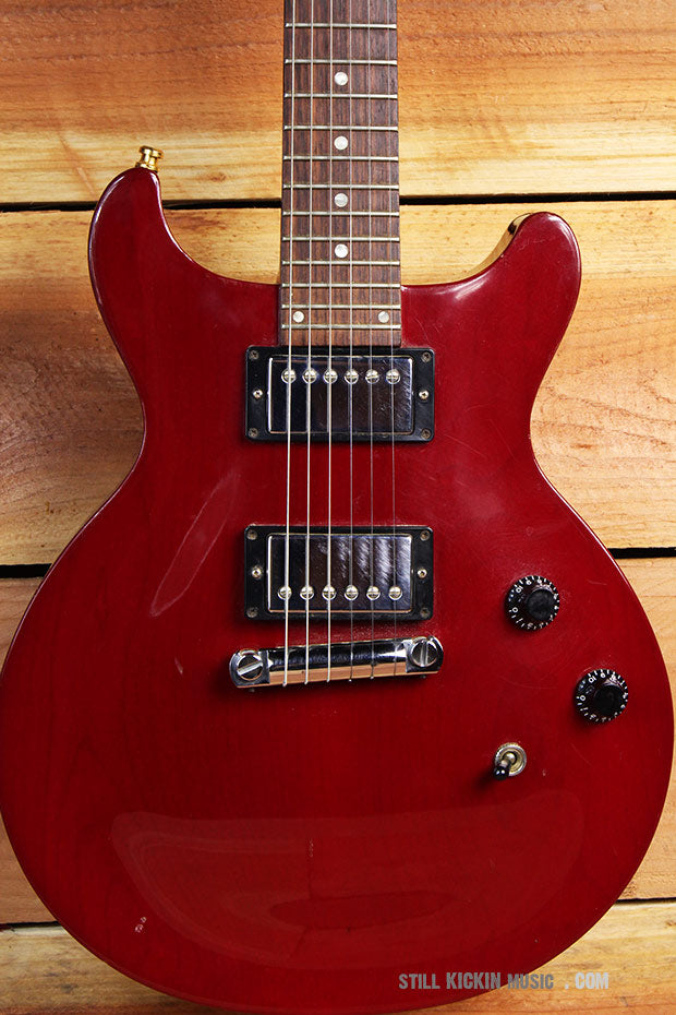 GIBSON 1998 LES PAUL STUDIO Special DOUBLE CUTAWAY Cherry Red 24-Fret 8457