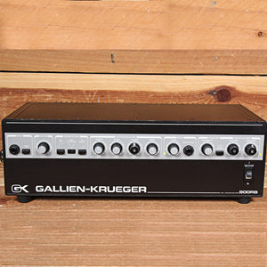 GALLIEN-KRUEGER GK 800RB BASS AMP HEAD INDUSTRY STANDARD 800 RB AMPLIFIER 61419