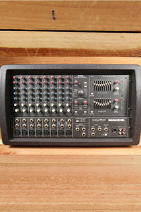 MACKIE 808M STEREO 1200W Powered PA Mixer Board -- Very Clean! 808 M 0029