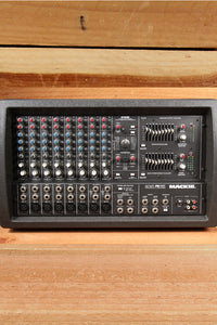 "MACKIE 808S STEREO 1200W Powered PA Mixer Board -- RARE ""Made in USA"" 808 15780"