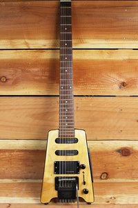STEINBERGER SPIRIT GT-PRO RARE CUSTOM Natural Finish Headless Guitar HSS 1134