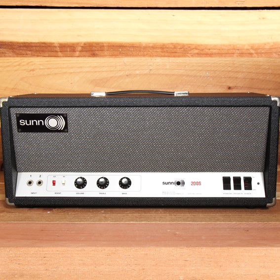 SUNN 200S BASS GUITAR O))) vintage 60s Tube amp head CLEAN Condition! FREE Ship!