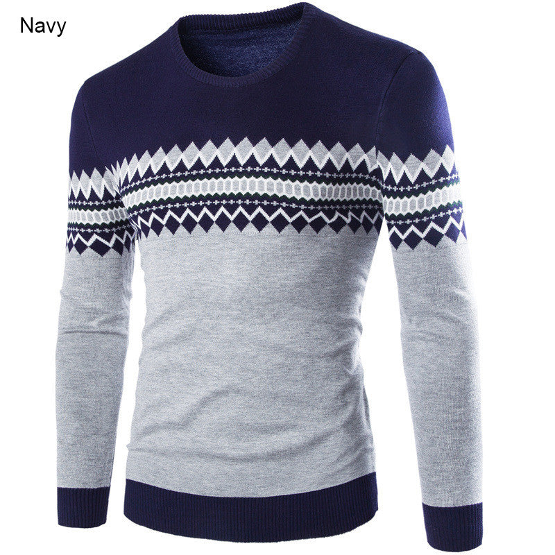 Casual Mens Pullovers Sweater - ajevans online retail Men, Women, Children