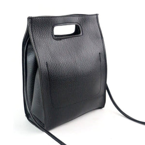 Women's Black Leather Bag - ajevans online retail Men, Women, Children