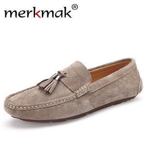 Soft Moccasins Men Loafers - ajevans online retail Men, Women, Children