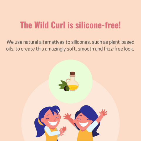 The Wild Curl is silicone-free hair care company