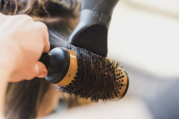 Applied heat can cause hair breakage