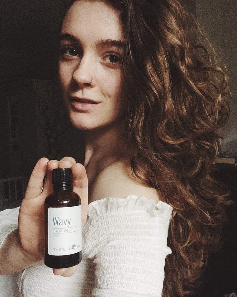 Wavy Hair Oil Kit - The Wild Curl
