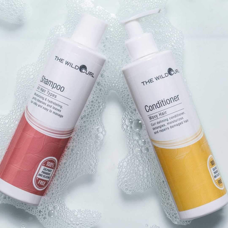 Shampoo & Wavy Conditioner Duo - The Wild Curl