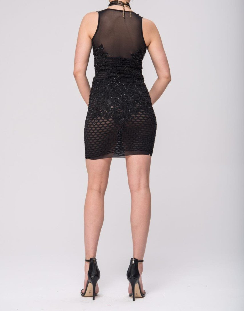Lacey Black Dress-Womens Clothes