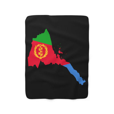 Eritrea Inspired Sherpa Fleece Blanket