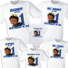 African American Boss Baby Matching Birthday T-Shirt