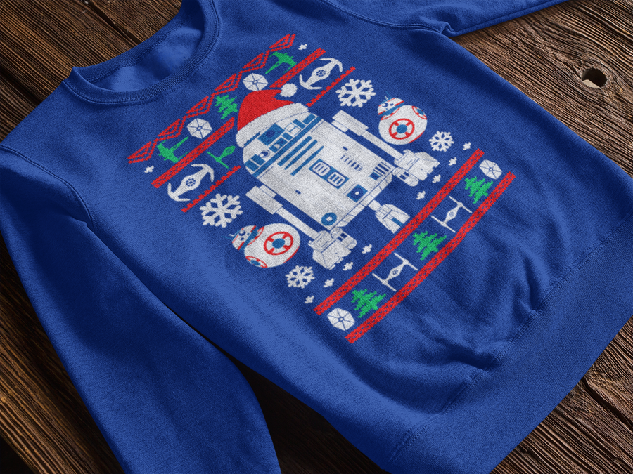 R2D2 Star Wars Ugly Christmas Sweatshirt