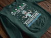 Rick and Morty - Let's Get Riggity Wrecked Son Ugly Christmas Sweatshirt