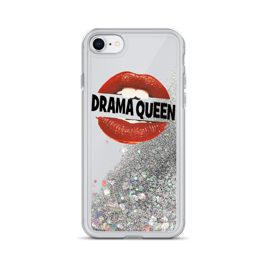Drama Queen Liquid Glitter Phone Case
