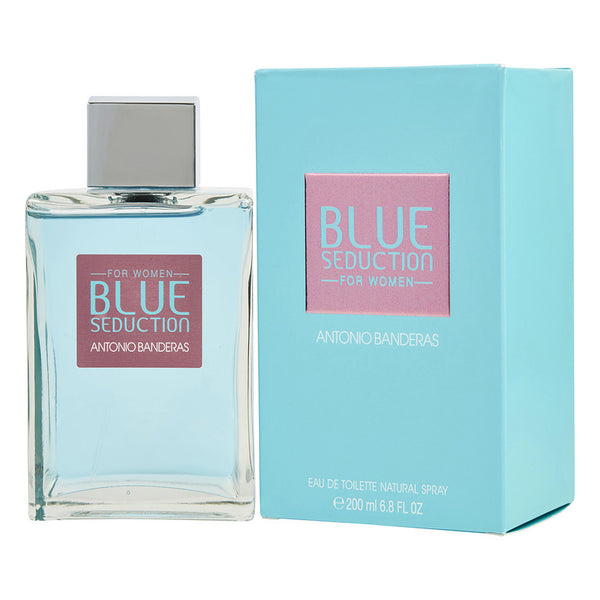 Seduction Blue EDT 200ML Mujer Antonio Banderas