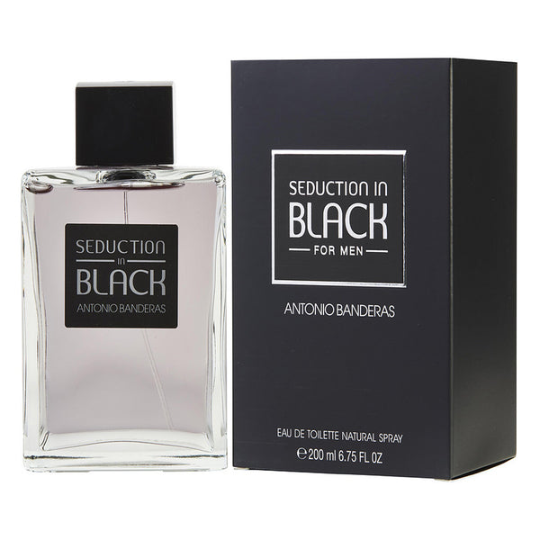 Seduction In Black EDT 200ML Hombre Antonio Banderas