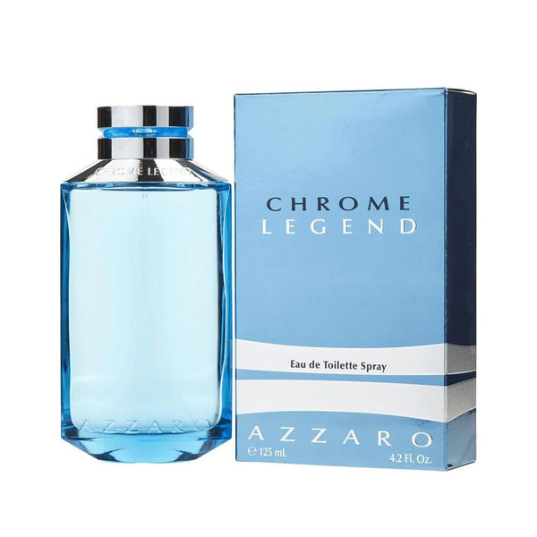 Azzaro Chrome Legend EDT 125 ML Hombre - Lodoro Perfumes y Lentes