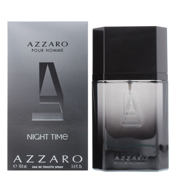 Azzaro Night Time Edt 100Ml Hombre - Lodoro Perfumes
