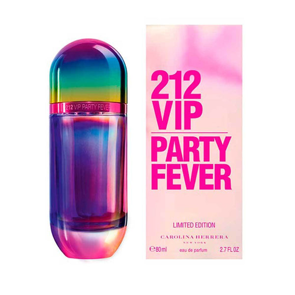 Perfume Original Carolina Herrera 212 Vip Party Fever Edt 80Ml Mujer