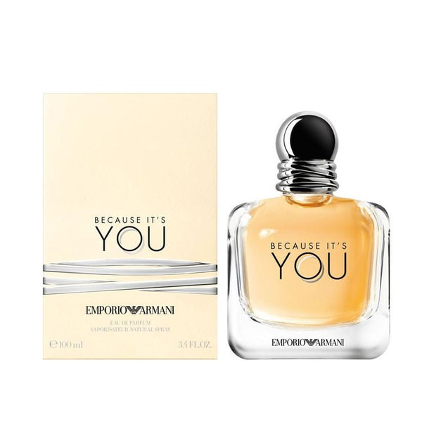 Emporio Armani Because Its You EDP 100ML Mujer - Lodoro Perfumes y Lentes