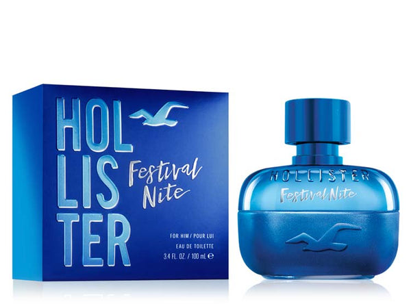 Hollister Festival Nite Edt 100Ml Hombre - Lodoro Perfumes