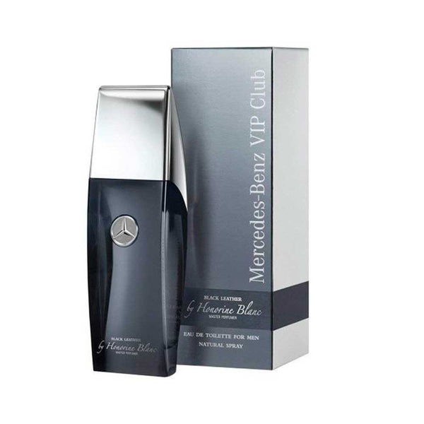 Vip Club Black Leather EDT 100ML Hombre Mercedes Benz