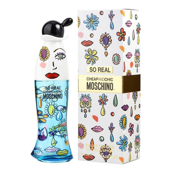 Perfume Original Moschino Cheap & Chic So Real Edt 100Ml Mujer